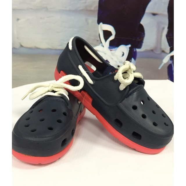 """Крокси """"Білі шнурки"""""""